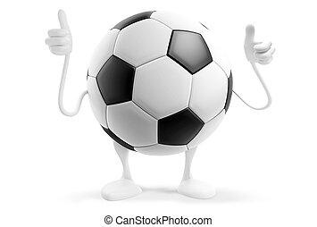 soccer football ball 3d-illustration