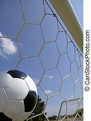 Soccer - Football in Goal