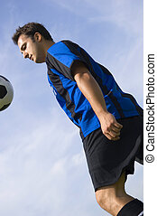 Soccer - Football Player Juggling
