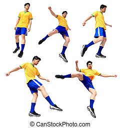 Soccer football player man