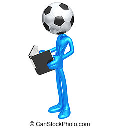 Soccer Football Rulebook - 3D Concept And Presentation...