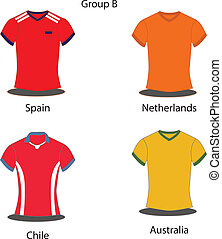 Soccer / Football team players.