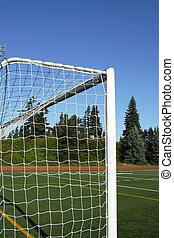 Soccer goal posts