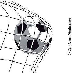 soccer goal clip art and stock illustrations 44 499 soccer goal eps rh canstockphoto com soccer goal clipart soccer goal clip art free