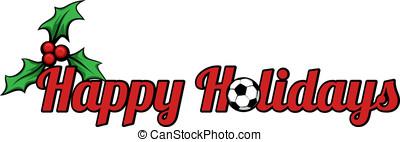 Soccer Happy Holidays