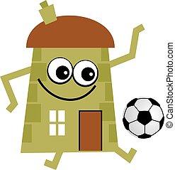 soccer house