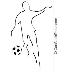 illustration of soccer