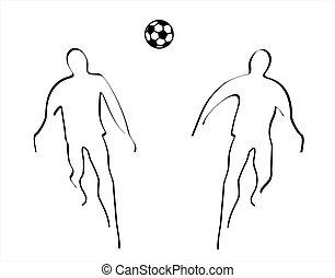 Soccer - illustration of soccer