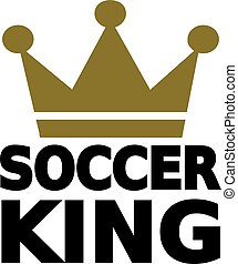 Soccer King Crown