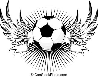 soccer logo - isolated soccer emblem, vector format very...