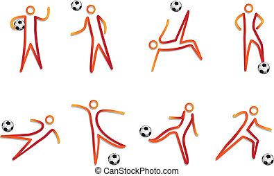 soccer mascot vector