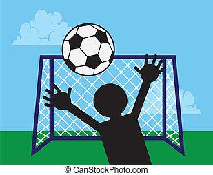 Soccer Net Block