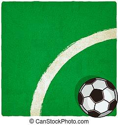 soccer old background