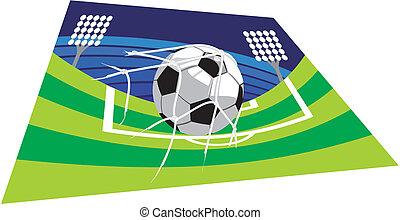 soccer or footbal stadium