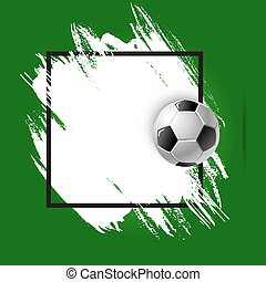 Soccer or football cup, sport ball championship