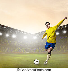 soccer or football player