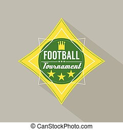 Soccer or Football Tournament Badge