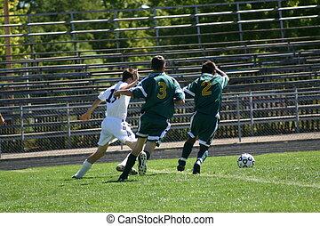 Soccer - High school soccer is a popular sport in Autumn