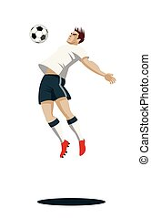 Soccer Player with Ball.