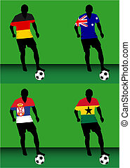 Soccer players - Group D