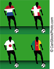 Soccer players - Group E