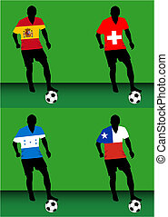 Soccer players - Group H