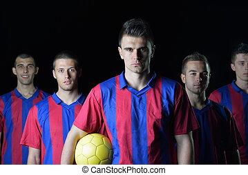 soccer players team