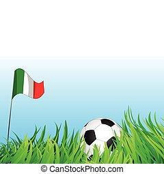soccer playground, italy