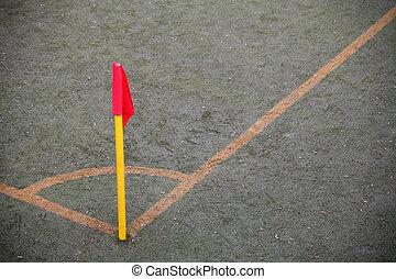 soccer pole