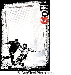 soccer poster background 1