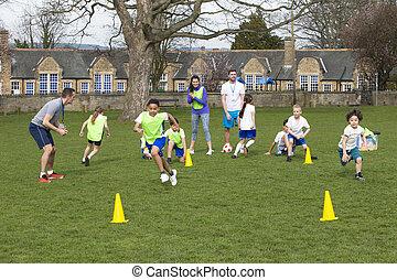 soccer praktyka