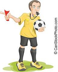 Soccer referee whistles