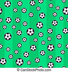 Soccer seamless pattern.