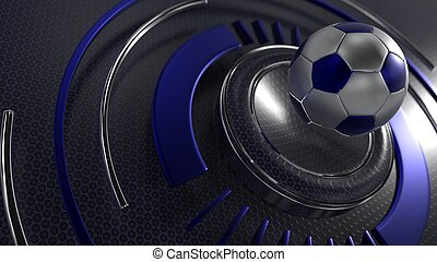 Soccer sports background