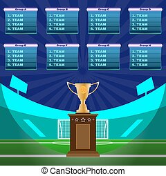 Soccer Stadium Championship - Soccer Champions Scoreboard...