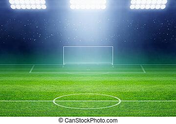 Soccer stadium - Soccer background, soccer stadium, arena in...