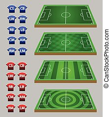 Soccer Strategy Graphic Element