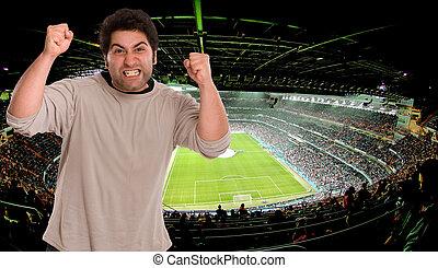 Soccer supporter