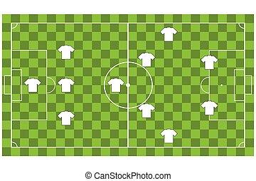 Soccer team formation