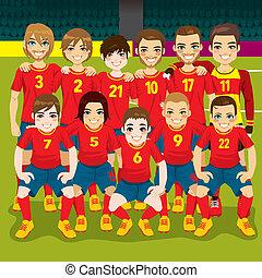Soccer Team Portrait