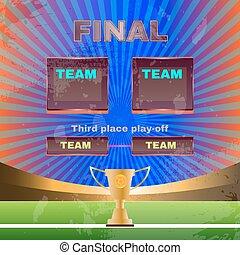 Soccer Teams Stadium Template