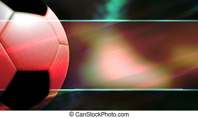 Soccer Template Style Animated Background