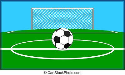 Soccer theme.