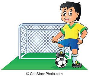 Soccer theme image 1