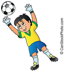 Soccer theme image 2