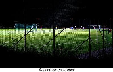 Soccer training