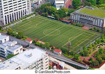 Soccer training field
