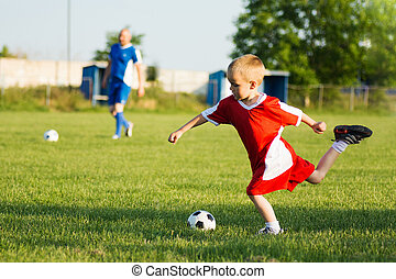 soccer training for children