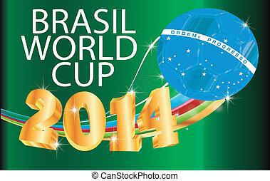 Soccer WM Brazil 2014