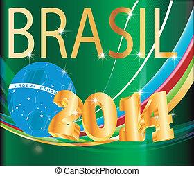 vector image WM Brazil 2014
